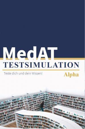 MedAT Testsimulation Alpha get to med Vorbereitung Cover